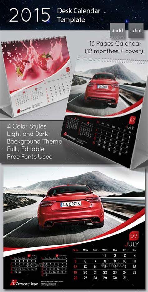2015 desk calendar stationery design graphicriver 2015 desk calendar template graphicflux
