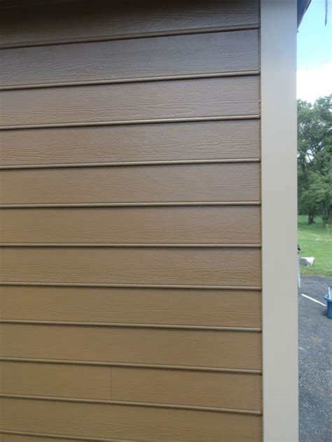 hardie beaded siding chestnut brown hardie trim khaki brown installed by opal