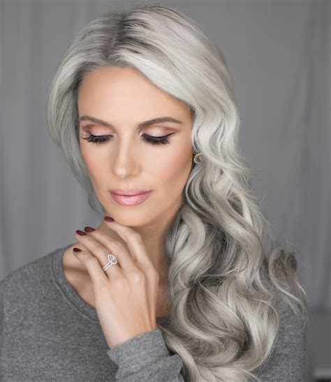 grey hair in 40 s 30 superb short hairstyles for women over 40 silver hair