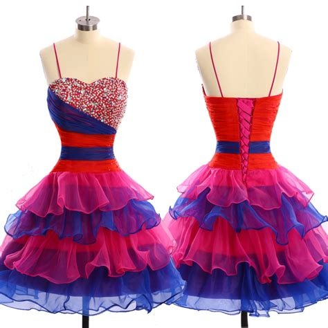 Dress Rainbow 1 popular rainbow prom dress buy cheap rainbow