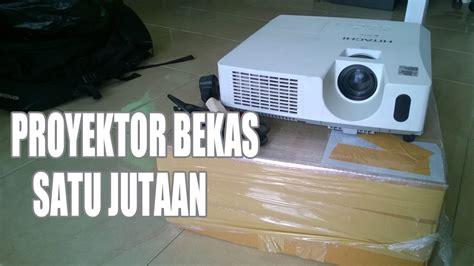 Proyektor Hitachi unboxing proyektor hitachi cp x3011 bekas