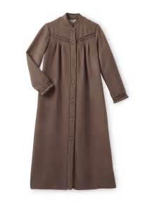 robe de chambre col officier molleton courtelle