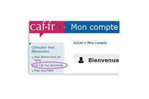 ma caf actualit 233 s caf fr