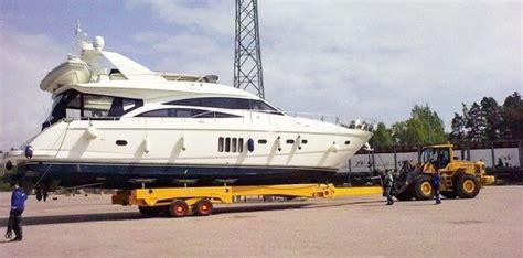 roodberg boottrailer cura 231 ao marine has new 60 ton roodberg trailer all at sea