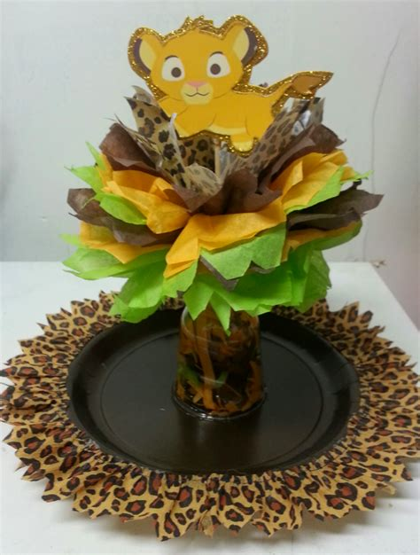s creations baby shower theme centerpieces