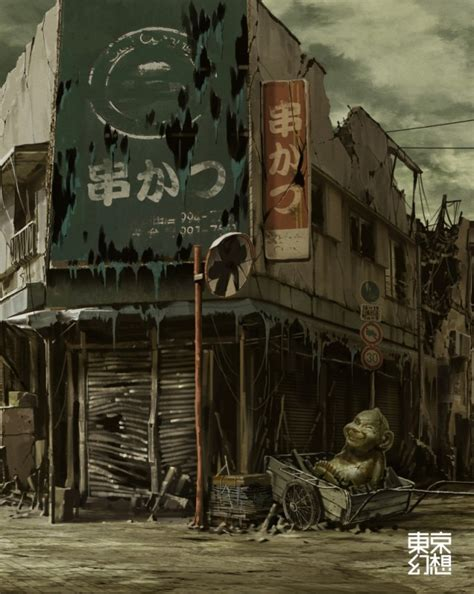 billiken theatre post apocalyptic images of japan gakuranman