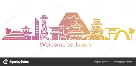 Welcome To Japan welcome to japan banner stock vector 169 genadiymolnia