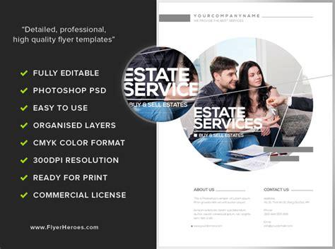 real estate business flyer template flyerheroes