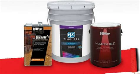 home depot up to 40 rebate on paint stain today