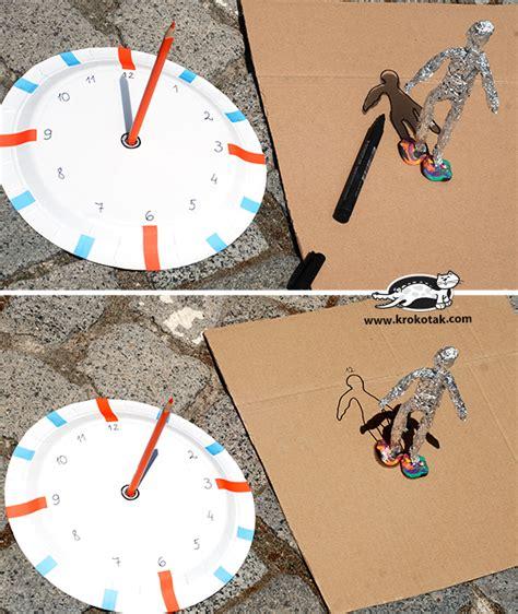How To Make A Paper Sundial - krokotak diy sundial