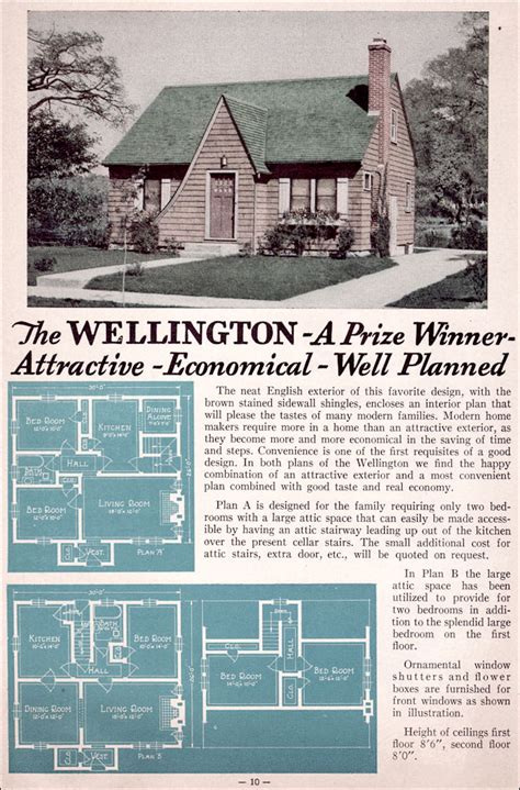 wellington modest english cottage style