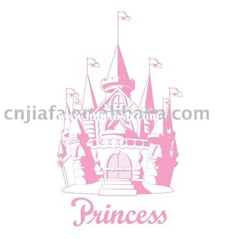 Disney Princess Embossing Stickers wall sticker princess wall sticker princess manufacturers