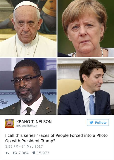 Donald Meme - 10 of the funniest reactions to super sad pope meeting