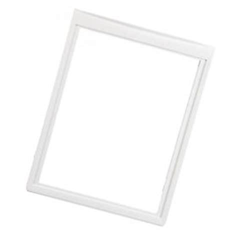 frigidaire upper crisper drawer cover frigidaire frs23kf6em4 upper bottom crisper drawer frame