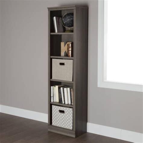 south shore morgan 4 shelf bookcase south shore morgan 5 shelf 71 1 2 quot narrow bookcase