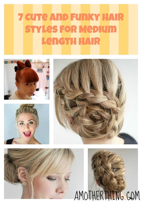 how to make hair style at shoulder hairs 7 cute hair styles for medium hair