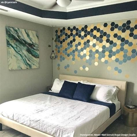 wall stencils for bedroom 435 best stenciled painted walls images on pinterest