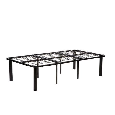 Twin Size 8 Leg Metal Platform Bed Frame No Box Spring Bed Frames No Box