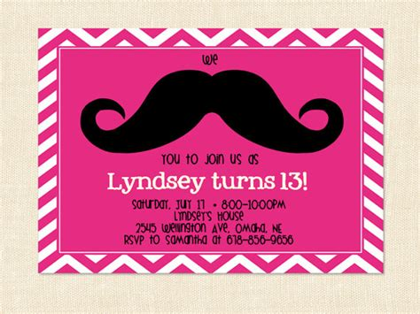 mustache birthday card template birthday quotes for quotesgram