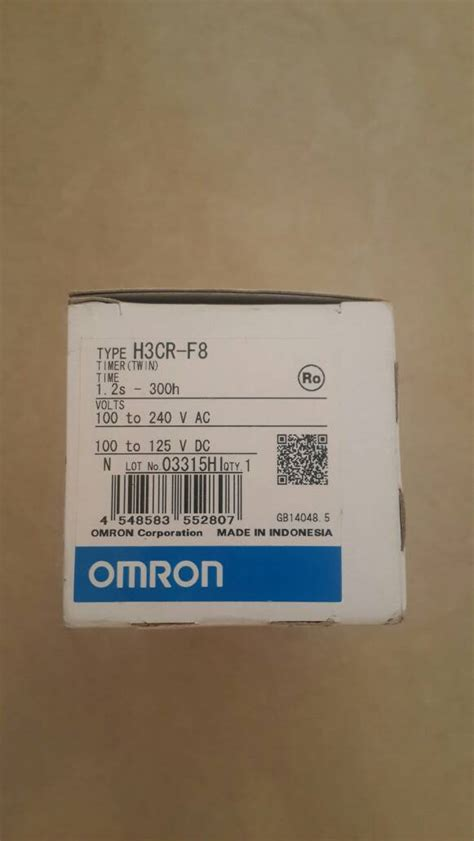 Omron Timer H3cr F8 Timer jual timer h3cr f8 220v omron quin z corp