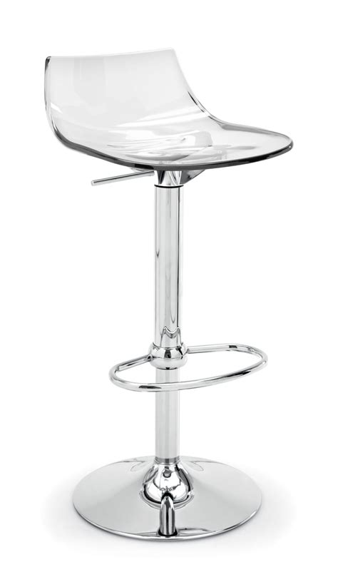 sgabello trasparente led sgabello connubia by calligaris linea tavoli e sedie