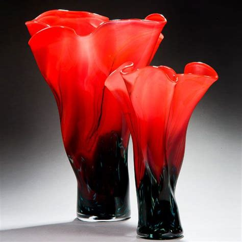 hand blown glass floor 361 best hand blown art glass vases images on pinterest