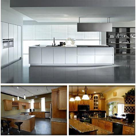 newstar modular wooden kitchen cabinet with granite