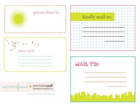 free printable shipping label template free printable mailing labels freebies