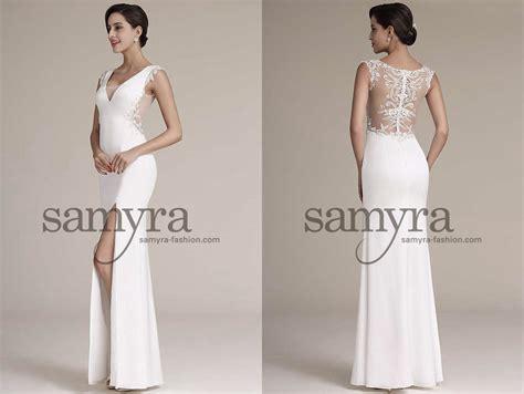 Hochzeitskleid Langärmlig by Elegantes Brautkleid Mit Tr 228 Gern Samyra Fashion