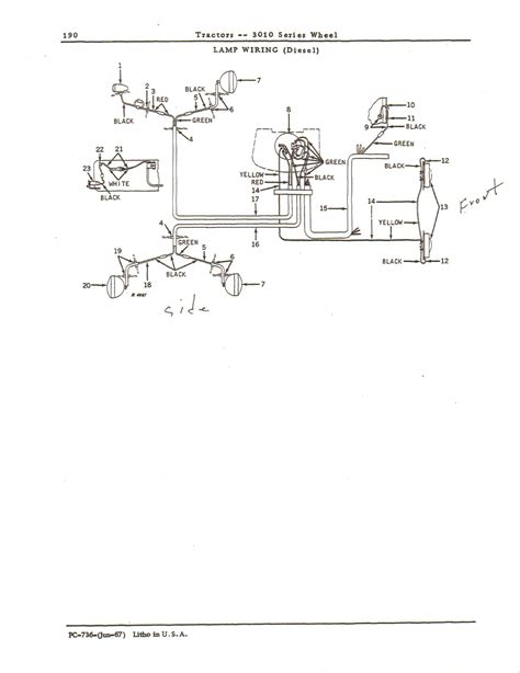 deere 2020 lights wiring diagrams deere 1830