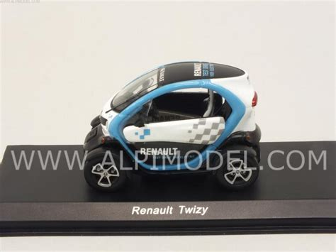 renault twizy blue spark model renault twizy 2015 white light blue 1 43
