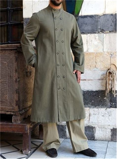 Hatf World Weld Tshirt Muslim 5 shukr uk munir jubba hits below knee mandarin collar