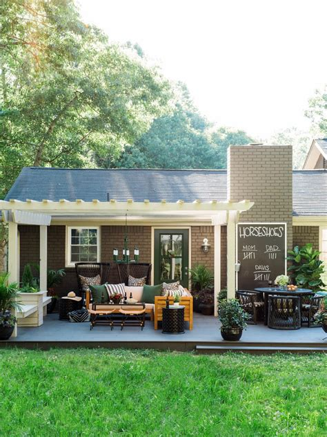 Design Your Patio by Washing Your Patio Hgtv