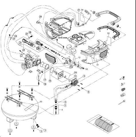 de walt compressor parts wiring diagrams wiring diagram