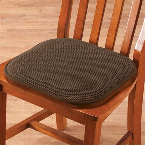 memory foam chair pads set of 2 foam cushions seat