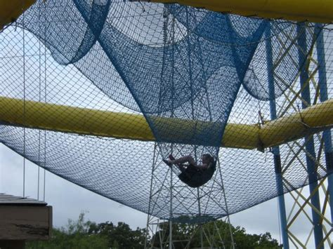 nothing but net picture of zero gravity thrill amusement park dallas tripadvisor
