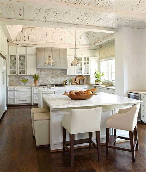 Kitchen Island With Seating For 5 1000 Ideas About White Wash Ceiling On Pinterest White Stain White Washing Wood And White