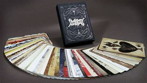 cool card deck designs ultimate deck cards bring creepy horror artwork to