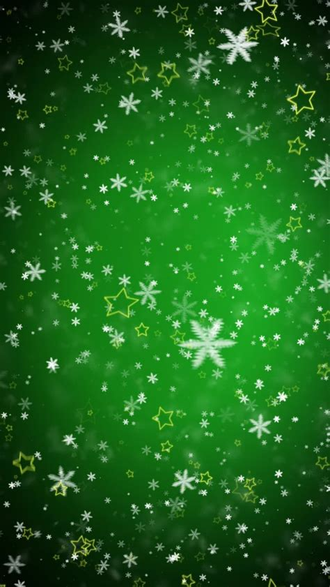 tap image   christmas wallpapers green snowflakes  mobile wallpaper iphone christmas