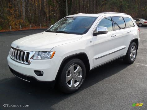 old white jeep cherokee 2012 white jeep grand cherokee overland