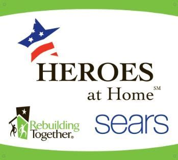 sears heroes at home program announces projects