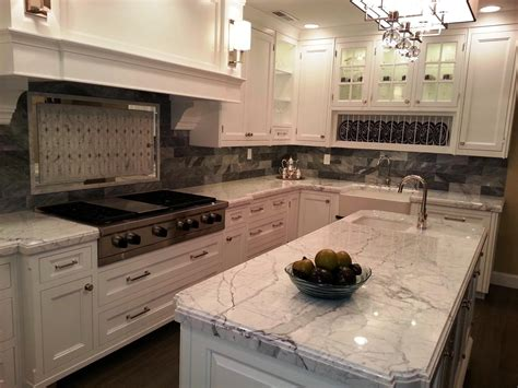 Best Countertops For White Cabinets With Granite White Kitchen Cabinets With Granite Countertops