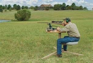How To Build A Bench Rest For Shooting Build Your Own Shooting Range Guns And Shooting Realtree