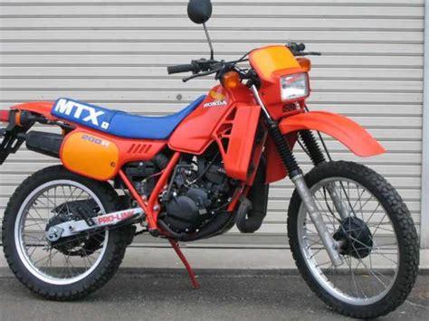 honda mtx honda mtx 200 r datos t 233 cnicos de la motocicleta motos