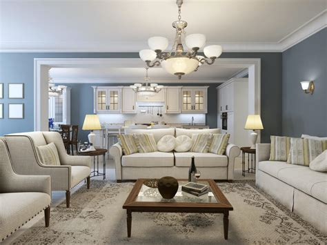 Gray Blue Living Room Best Living Room Colors For 2017