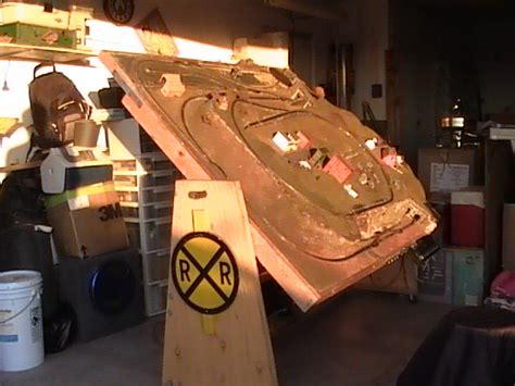 model train set table plans  woodworking