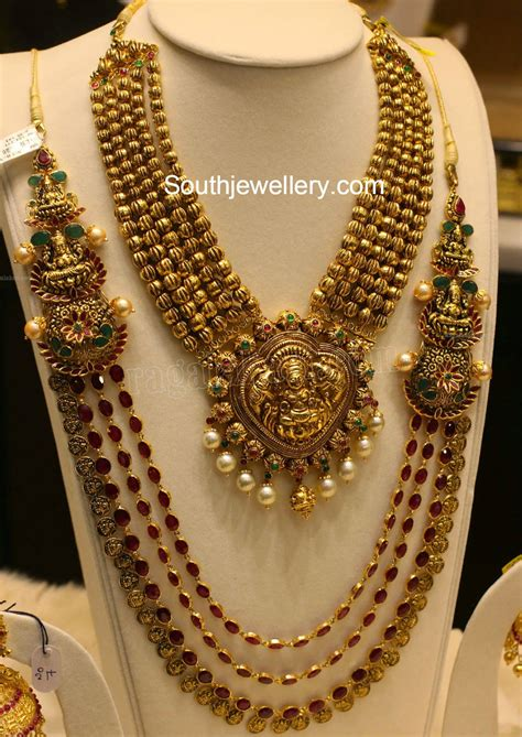 new gold on the design collection temple jewellery designs jewellery designs