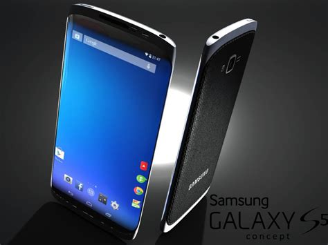 new samsung new samsung galaxy s5 concept based on patent design