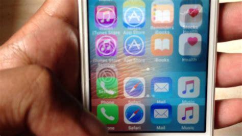 iphone 5s screen blur flickering shaking problem
