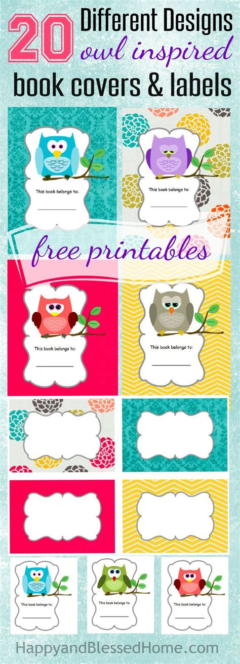 printable granola labels free scholastic books free owl book labels and smores